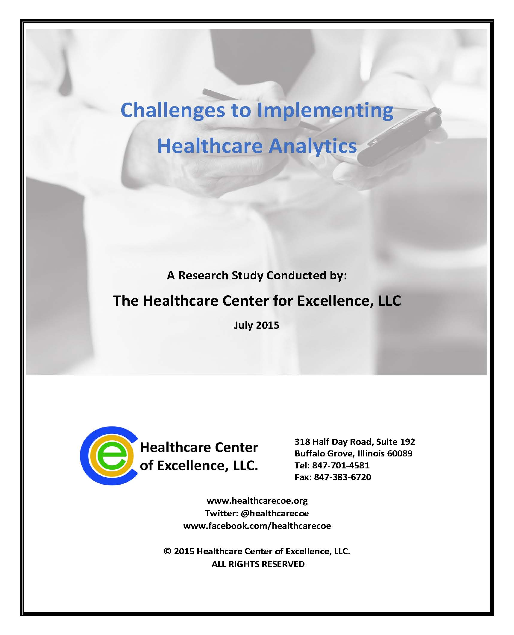 Challenges to Implementing Healthcare Analytics
