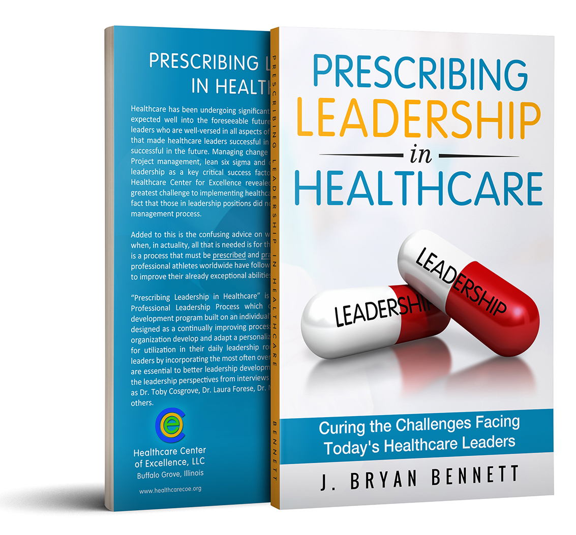 Prescribing Leadership in Healthcare - SIGNED COPY & Free Shipping
